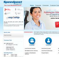 speedpost.com.sg screenshot