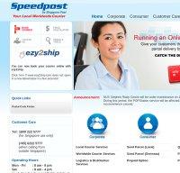 speedpost.com.sg screenshot