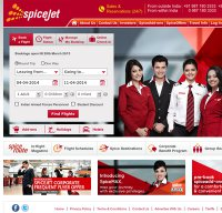 spicejet.com screenshot