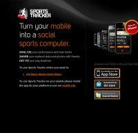 sports-tracker.com screenshot