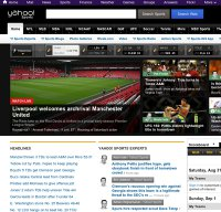 sports.yahoo.com screenshot