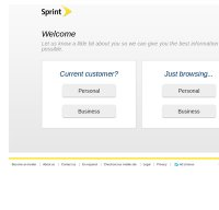 sprint.com screenshot