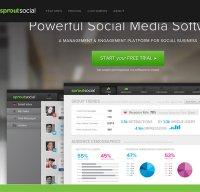 sproutsocial.com screenshot