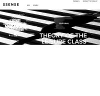 ssense.com screenshot