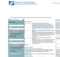 sss.gov.ph screenshot