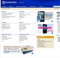 standardbank.co.za screenshot