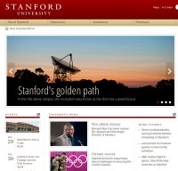 stanford.edu screenshot