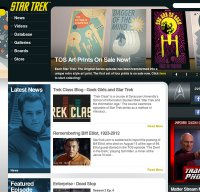 startrek.com screenshot