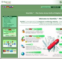 startssl.com screenshot