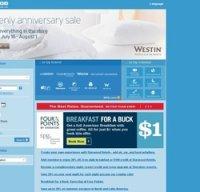 starwoodhotels.com screenshot