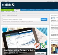 statista.com screenshot