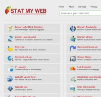 statmyweb.com screenshot