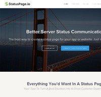 statuspage.io screenshot