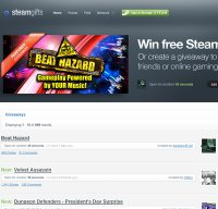 steamgifts.com screenshot