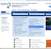 stepstone.de screenshot