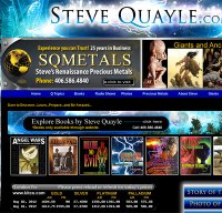 stevequayle.com screenshot