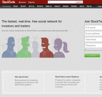 stocktwits.com screenshot