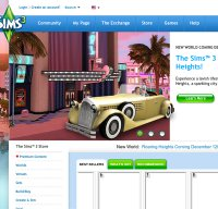 store.thesims3.com screenshot