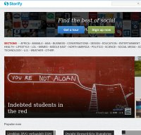 storify.com screenshot