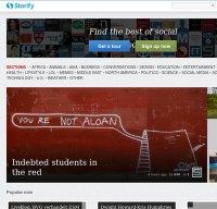 storify.com screenshot