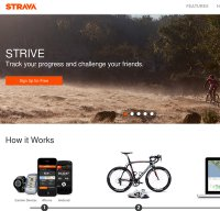 strava.com screenshot