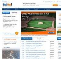 stubhub.com screenshot