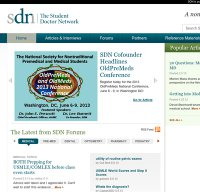 studentdoctor.net screenshot