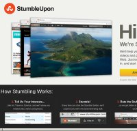 stumbleupon.com screenshot