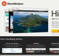stumbleupon.com screenshot