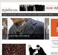 styleforum.net screenshot