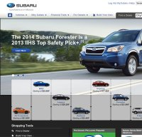 subaru.com screenshot