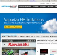 successfactors.com screenshot
