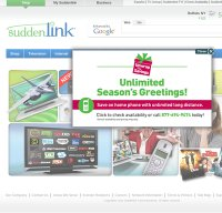 suddenlink.com screenshot