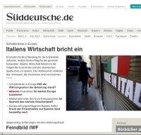 sueddeutsche.de screenshot