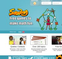 sumdog.com screenshot