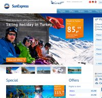 sunexpress.com screenshot