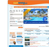 sunwing.ca screenshot
