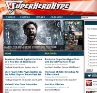 superherohype.com screenshot