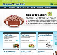 supertracker.usda.gov screenshot