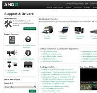 support.amd.com screenshot