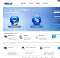 support.asus.com screenshot