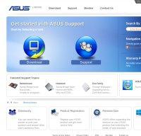 support.asus.com screenshot