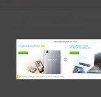 support.lenovo.com screenshot