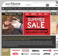 surfdome.com screenshot