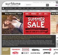 surfdome.com screenshot