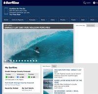 surfline.com screenshot