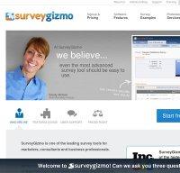 surveygizmo.com screenshot