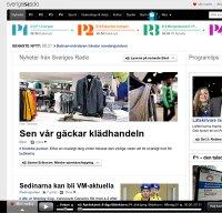 sverigesradio.se screenshot