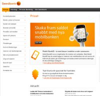 swedbank.se screenshot