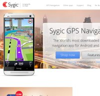 sygic.com screenshot